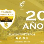 El Peligros Fútbol Sala celebra un aniversario especial, 20 años