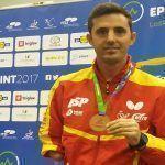 José Manuel Ruiz cae en su primer partido del Mundial Tenis de Mesa