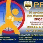 Peligros Fútbol Sala y el Día Mundial contra la EPOC