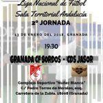 El Granada CF Sordos afronta la segunda jornada de la Liga Nacional