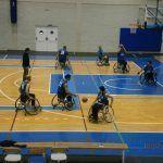 Un sólo punto separa de la victoria al CD Granada Integra de baloncesto en silla de ruedas