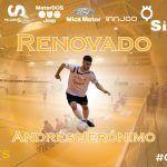 SIMA Peligros Fútbol Sala renueva para su proyecto al habilidoso Andresito