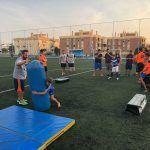 Granada Lions acercan el Fútbol Americano en las Fiestas de Maracena