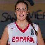 Marta Morales, del club GmasB, en la Selección U16F del Europeo de Kaunas (Lituania)