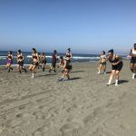 RACA Granada trabaja en una sesión especial y física en la playa