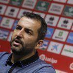 El gran momento de la renovación de Diego Martínez como entrenador del Granada CF
