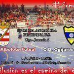 La previa del Albolote Futsal viene cargada de acontecimientos deportivos