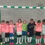 Futsalhendin presente en la primera convivencia benjamín granadina