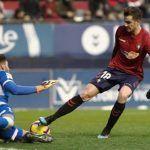 El Granada CF pierde en los instantes finales en el Sadar de Pamplona