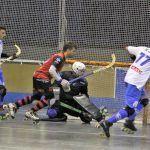 El Club Hockey Patín Cájar remonta su partido y estrena casillero de victorias en la OK Bronce