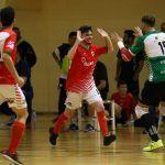 SIMA Peligros Fútbol Sala demuestra furia rojiblanca en su desplazamiento a Cádiz