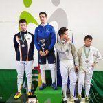 El Club Esgrima Alhambra obtiene tres medallas para sus tiradores en la IV Copa de Andalucía