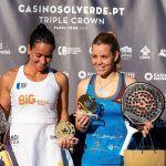 La granadina Lucía Martínez, campeona del Lisboa Crown en pádel