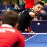 Jose Manuel Ruiz, en el Open Internacional en Bulgaria de tenis de mesa