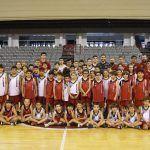 Manu Rodríguez visita el Fénix Camp de Fundación CB Granada