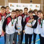 Los canteranos cadetes de Fundación CB Granada obtienen el bronce con la selección granadina