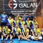 Gran bagaje de triunfos en el casillero del Club Voleibol Sermud Armilla durante el fin de semana