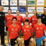 El Club Bádminton Granada afrontó la tercera jornada de la Liga Nacional de Primera División en Estella