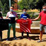 Peligros Fútbol Sala renueva el convenio con ADJE Zona Norte