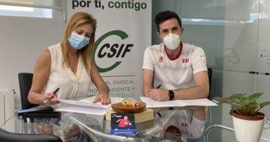 El sindicato CSIF acompañará a José Manuel Ruiz a los JJPP de Tokio