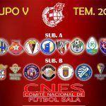 SIMA Granada Fútbol Sala conoce la composición del grupo V de competición