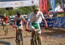 La selección andaluza de BTT en ciclismo tiene la cara de la mala suerte