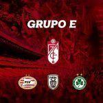 El Granada CF encuadrado con PSV holandés, PAOK griego y Omonia chipriota en la Europa League