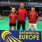 El torneo internacional de bádminton Iberdrola Spanish Junior, un éxito para la representación granadina