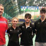 España participa en el Campeonato Europa Junior de bádminton con representación granadina