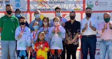 Lluvia de medallas para la Selección Andaluza de ciclismo en el Campeonato España BMX 2020