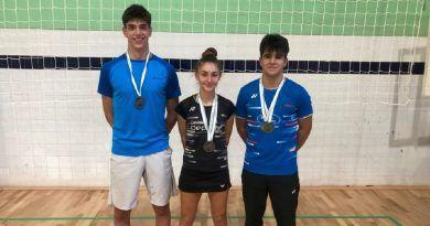 El Club Bádminton Granada disputó el Campeonato de Andalucía Sub 11 y Absoluto