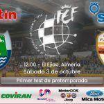 SIMA Granada Fútbol Sala tendrá una prueba de nivel ante el CD El Ejido
