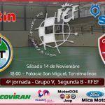 SIMA Granada FS afronta con confianza la liga, visitando al FS Torremolinos