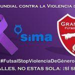 SIMA Granada y el Futsal unidos contra la Violencia de Género