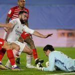 La fiabilidad del Granada CF cerca de puntuar en su visita al Real Madrid