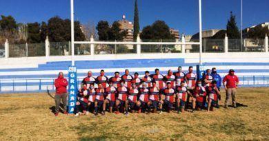 El CDU Granada de rugby masculino debuta en la temporada con triunfo