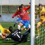 El Recreativo Granada cae ante el UCAM Murcia luchando hasta el final