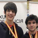 El Club Bádminton Granada sigue siendo de oro en las competiciones