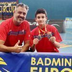 Mario Rodríguez, del Club Bádminton Granada, consigue dos platas en el Spanish U15 de Ibiza