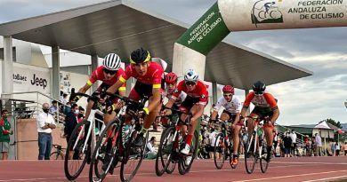 Santa Fe mete una marcha más al Circuito Granada Escuelas y Cadetes 2021 de ciclismo