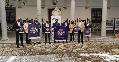 Presentado en el Ayuntamiento de Granada el Campeonato de España júnior masculino en baloncesto