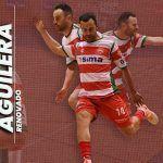 Dani Aguilera renueva con el SIMA Granada Fútbol Sala
