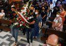 El Granada CF realiza una ofrenda floral a la patrona de la ciudad