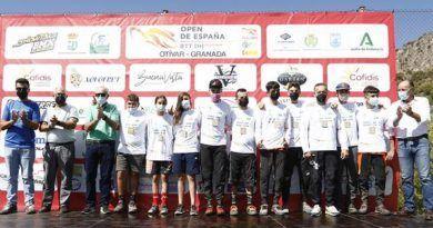 Rafael Bascón triunfa en el Campeonato Andalucía Descenso 2021 en Otívar