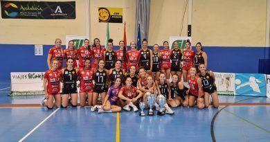 La Copa de Andalucía en voleibol femenino, una auténtica fiesta en Atarfe